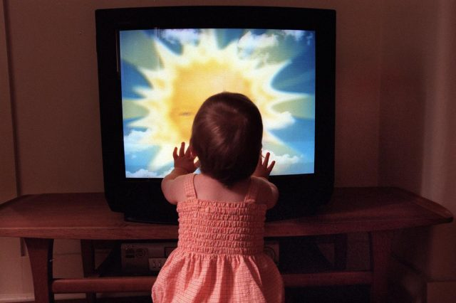 A Danger For The Babies Watching TV Too Much